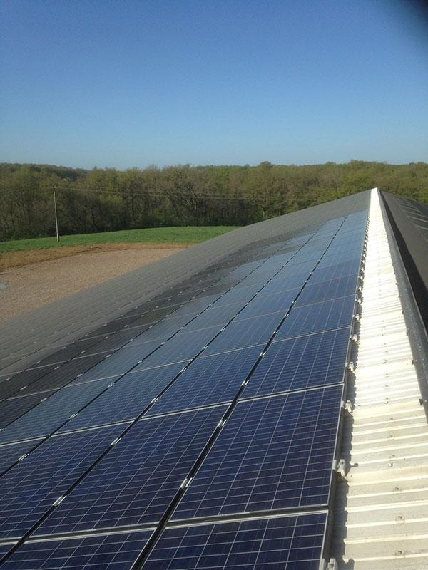 nettoyage panneaux solaires photovoltaïques